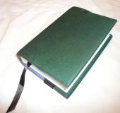 """Обложка для """"Бхагавад-Гиты как она есть"""" обычного формата. Тёмно-зелёная"""