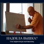НАДОЕЛА ВЫШКА. Учи ведическую математику