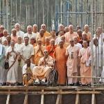 GBS на стройке Маяпурского храма 2011