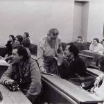МГУ. Встреча со студентами в 1989