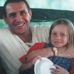 Хари Шаури дас с дочкой