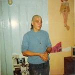 Хари Шаури дас. Впервые выбрита голова 1972