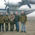 001 Первые добровольцы-кришнаиты в СПб перед вылетом на Кавказ