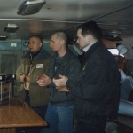 008 Мангала-арати в машине управления для командного состава