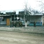 Разрушенный павильон в г.Грозном