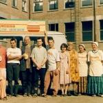Фотосъёмка при пересменке состава миссии кришнаитов в Чечне