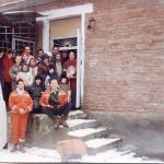Группа преданных и местных жителей в Грозном (зима 1995-96)