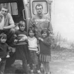 Каруна-Аватар дас, Стока-Кришна дас и чеченские дети
