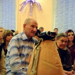 Джаядхарма дас снимает видео, СПб, 2010