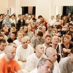 На программе в ДК Железнодорожников, СПб, 2012