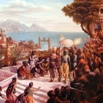 Кришна входит в Двараку (Рамадаса-Абхирама дас)