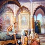 Кришна встречает Своего друга брахмана Судаму (Дхрува Махарадж д.)