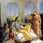 Рукмини и Кришна