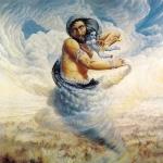 Демон Тринаварта похитил Кришну (Рамадаса-абхирама Дас. 1977)
