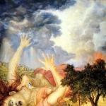 Поверженная Кришной демоница Путана (Дхрити д.д.1983)