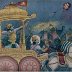 Арджуна убивает Джаядратху