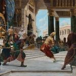Krishna kills Sishupala