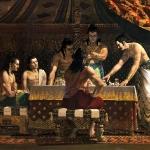 Pandavas discuss war tactics