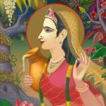 Шримати Радхарани (худ. Чайтанья Чандра Чаран дас)