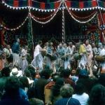 15 киртан на сцене Ратха-ятры