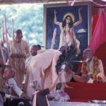 Вишнуджана Свами подыгрывает Шриле Прабхупаде