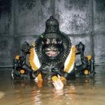 Нрисимхадева купается