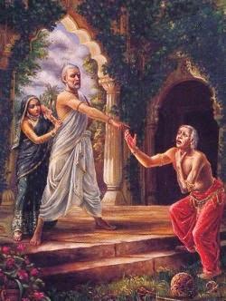 Шукрачарья проклинает царя Яяти