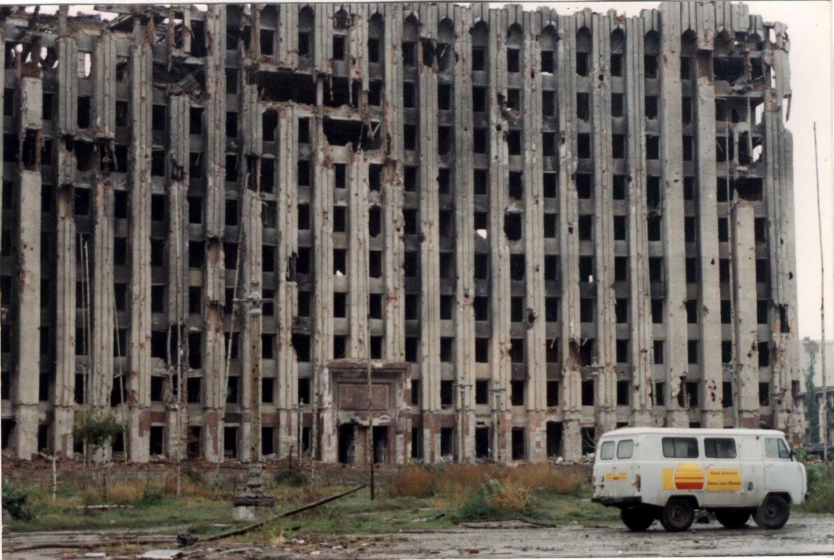 Чечня война грозный 15 фотография