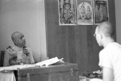 Prabhupada in San Francisco