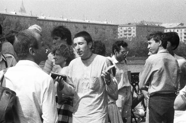 Первые распространители книг. 1987-88. Москва