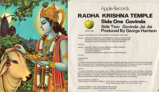 The Original Radha Krishna Temple Govinda Record