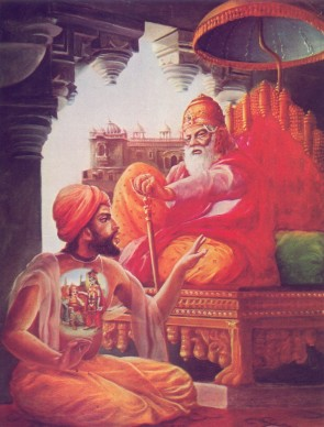 Дхритараштра спросил: О Санджая, что стали делать мои сыновья и сыновья Панду
