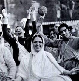Ямуна деви даси и другие ученики Прабхупады