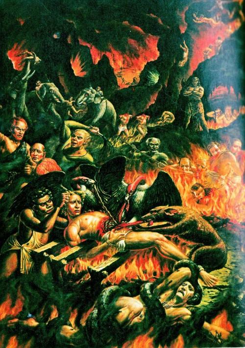Как выглядит ад на самом деле фото